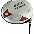 NEW SIMAC GOLF SIMAC MAC ATTACK 10.5° SQUARE DRIVER R