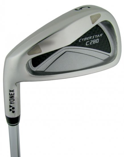 NEW YONEX GOLF LH C280 CYBERSTAR 5-SW STEEL IRONS UNIF