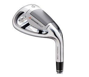 NEW ADAMS GOLF TECH OS 60° LW LOB WEDGE STEEL UNIFLEX