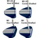 """NEW RAY COOK GOLF M1-3G BLUE HEEL SHAFT 34"""" PUTTER"""