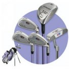 US KIDS GOLF - ULTRALITE LAVENDER 5 CLUB SET W/ BAG