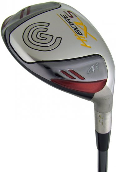 NEW CLEVELAND GOLF HI-BORE XLS #4 HYBRID IRON/WOOD REG