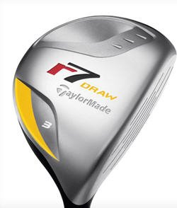 NEW TAYLOR MADE GOLF R7 DRAW 21° #7 FAIRWAY WOOD GRPH R