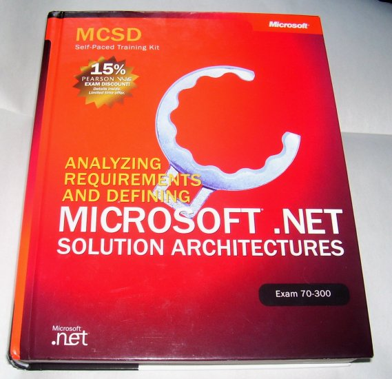 MCSD Self-Paced Training Kit, 2003 Hardcover--NO CD-ROM