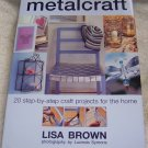 Metalcraft , 2001, NEW Hardcover), Crafts