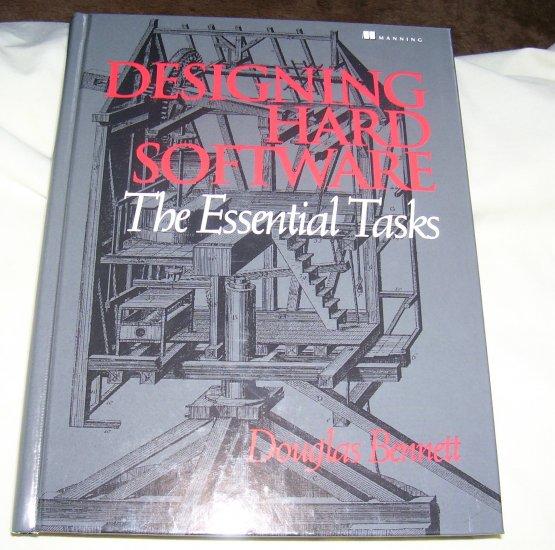 Designing Hard Software (HC, 1997), LIKE NEW HC