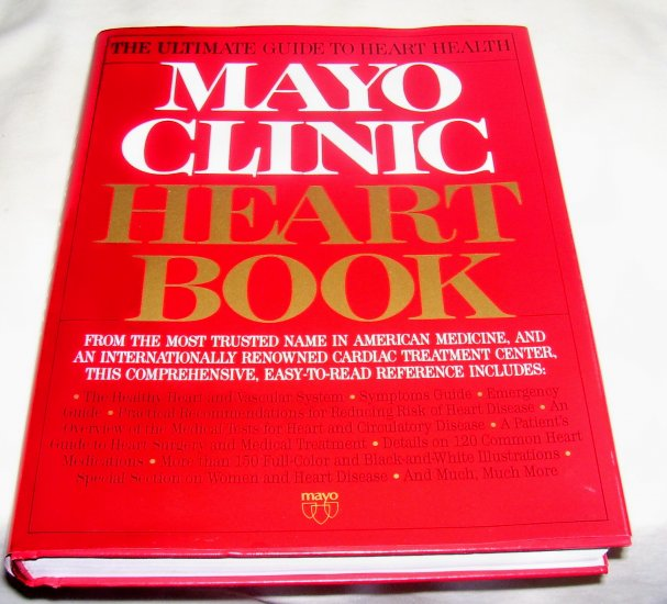 Mayo Clinic Heart Book , 1993, Ultimate Guide to Heart Health