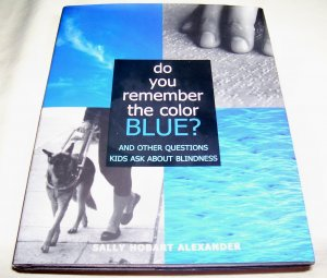 Do You Remember the Color Blue: The Questions Children Ask About Blindness, hcdj 2000 NEW