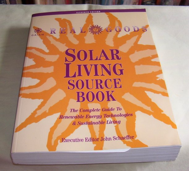 Real Goods Solar Living Source Book, Softcover,  2001
