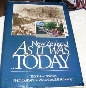 NEW ZEALAND, AS IT WAS TODAY, 1984 hcdj, TRAVEL