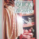 Quick and Cozy Afghans, 1994 SC, Afghans, Crocheting