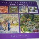 LINE & WASH, 2004, Art Technique, Painting, Color Wash