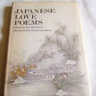 Japanese Love Poems, 1976 hcdj, Love Poetry, Japanese