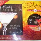 COMPLETE COCKTAILS, 2009 BOOK & DVD, COCKTAILS, NEW
