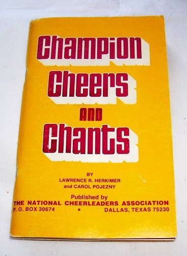 CHAMPION CHEERS AND CHANTS, 1980, CHEERLEADING,