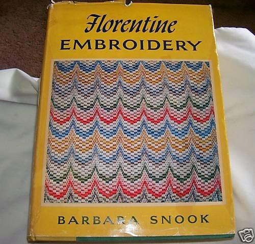 FLORENTINE EMBROIDERY, 1967 hcdj, EMBROIDERY