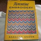 FLORENTINE EMBROIDERY, 1967 hcdj, EMBROIDERY