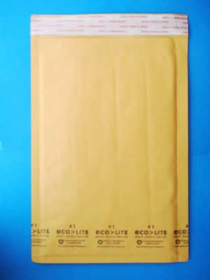 """12 Bubble Mailers size 7.25 in x 12 in  #1 envelope a dozen 7.25"""" x 12"""" mailer packaging"""