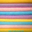 NEW COTTON TERRY TOWELS IN COLORS