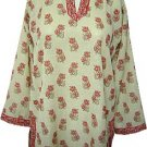 Sober Printed Tunic Kurta Top