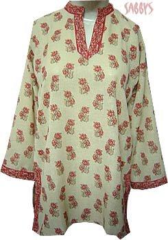 Sober Printed Tunic Kurta Top