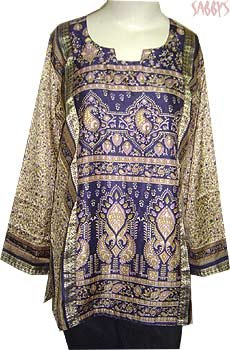 Fancy Printed Kurta