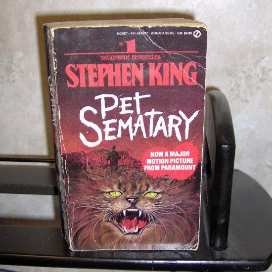 Pet Sematary by Stephen King Paperback Novel