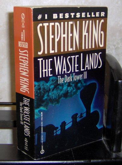The Wastelands - The Dark Tower III - Stephen King Paperback Novel