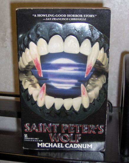 Saint Peter's Wolf by Michael Cadnum Paperback Novel