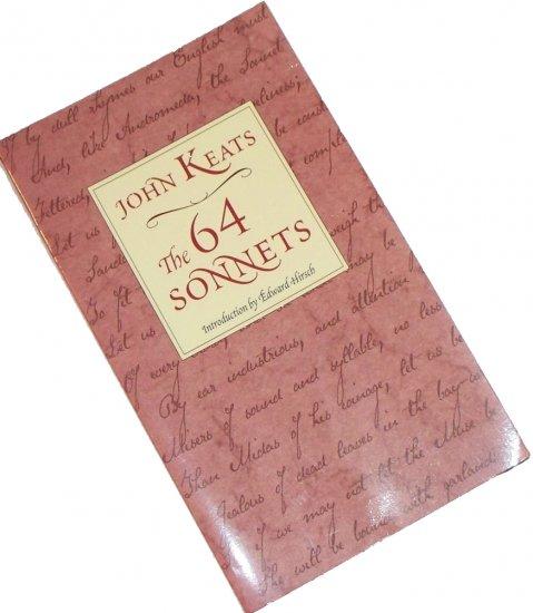 John Keats The 64 Sonnets paperback