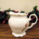 Royal Kent Sugar Bowl and Creamer Fruit Garland