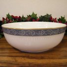 Mikasa Chaucer Vegetable Bowl Bone China  Blue White Gold