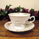 Royal Kent Cup and Saucer Fruit Garland