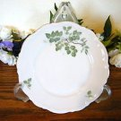 Mitterteich Bavaria Green Leaves Bread Plates