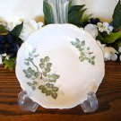 Mitterteich Bavaria Green Leaves Fruit Dessert Bowls