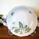Mitterteich Bavaria Green Leaves Cereal Bowls