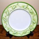 San Marco Frogs Salad Plate Italy Green White Majolica