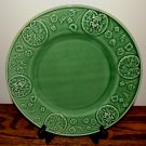 Bordallo Pinheiro Frog Service Chop Plate Green Lily Pads 12 1/2""
