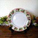 Gibson Tartan Bread Plate Christmas Holiday
