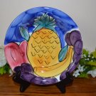 Pier 1 Soup Bowl Tropical Fruits Italy