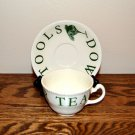 Wood and Sons Kitchen Garden Cups and Saucers England