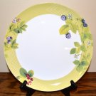 Mikasa Garden Berry Dinner Plate Bone China Green White