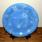 Sonoma Snowfall Dinner Plate Snowflakes