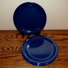 Carlisle Dallas Ware Cafe Blue Dinner Plates Melamine