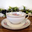 Ahrenfeldt Limoges Marianne Cup and Saucer