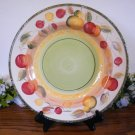 Gibson Clementine Fruit Dinner Plate Apples Pears