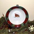 Block Father Christmas Cereal Bowl Santa Sleigh