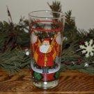 Block Father Christmas Glassware Santa Tumbler