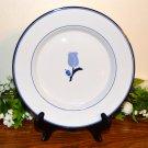 Dansk La Tulipe Blue Salad Plate