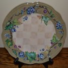Tracy Porter Claret Grapes Dinner Plate